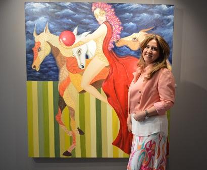 Photo of Nazan Pamuk'un boyunduruğa girmeyen atları!