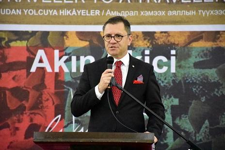 Photo of Akın Ekici'den 'Yolcudan Yolcuya Hikayeler'