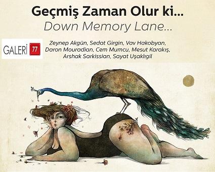 """Photo of Galeri 77'de """"Geçmiş Zaman Olur ki…"""""""