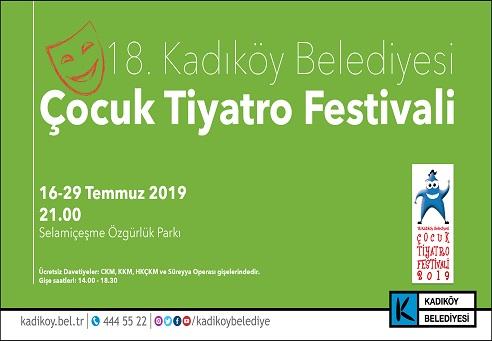 Photo of KADIKÖY ÇOCUK TİYATRO FESTİVALİ BAŞLIYOR