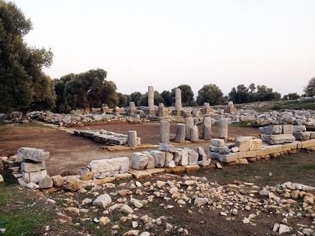 İş Bankası'ndan Teos Antik Kenti'ndeki kazılara destek 1