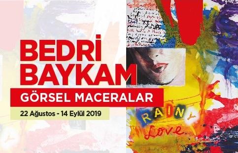 """Photo of Bedri Baykam'dan """"Görsel Maceralar"""""""