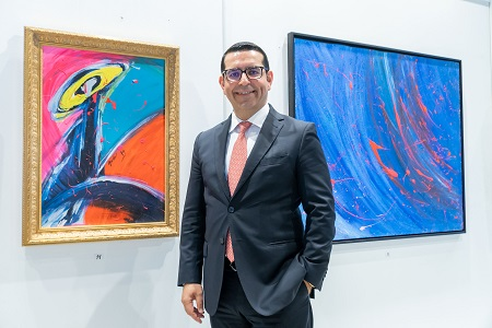 """Photo of Vizyoner CEO'dan """"Işığın Vizyonları"""" Resim Sergisi"""