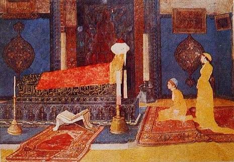 """Photo of Osman Hamdi Bey'in """"Türbe Ziyaretinde İki Genç Kız"""" eseri – Aysu Altaş yazdı…"""