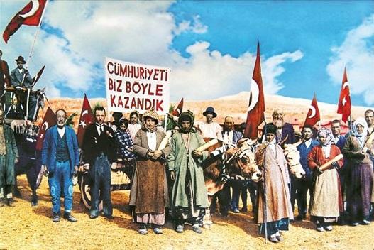 """Photo of """"Cumhuriyet'i biz böyle kazandık"""" Fotoğrafının Hikayesi"""
