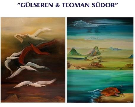 Photo of Eskişehir Atatürk Kültür Sanat ve Kongre Merkezi Resim Sergisi – Gülseren Südor ve Teoman Südor