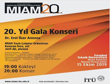 Photo of İTÜ MİAM 20. Yıl Gala Konseri