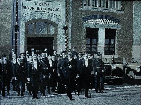 """Photo of Port Art Gallery, Portakal Çiçeği Uluslararası Plastik Sanatlar Kolonisi """"Cumhuriyet"""" sergisi"""