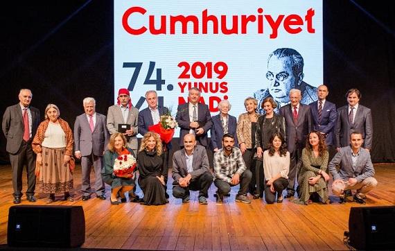 Photo of 74. YUNUS NADİ ÖDÜLLERİ SAHİPLERİNİ BULDU