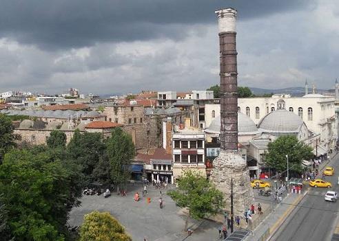 Photo of Constantinus Sütunu 'Çemberlitaş' – Beyza Akat yazdı…