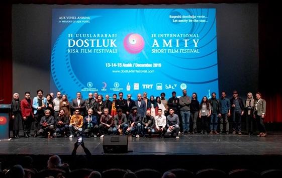 Photo of Uluslararası Dostluk Kısa Film Festivali'nde ödüller sahiplerini buldu!