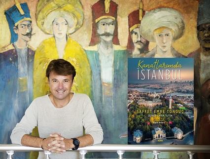 """Photo of İSTANBUL ANLATICISI SAFFET EMRE TONGUÇ'TAN: """"KANATLARIMDA İSTANBUL"""""""