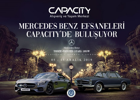 Photo of Capacity AVM Mercedes-Benz Efsane Otomobiller Sergisi