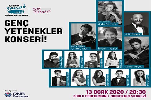 Photo of ÇEV SANAT GENÇ YETENEKLERİNDEN DEV KONSER