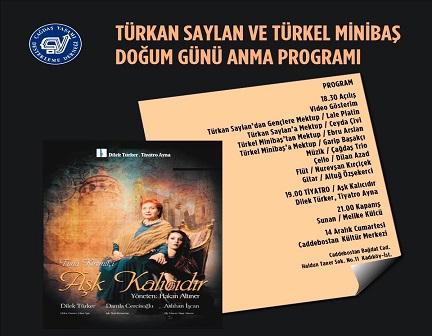 Photo of ÇYDD Türkan Saylan ve Türkel Minibaş Doğum Günü Anma Programı