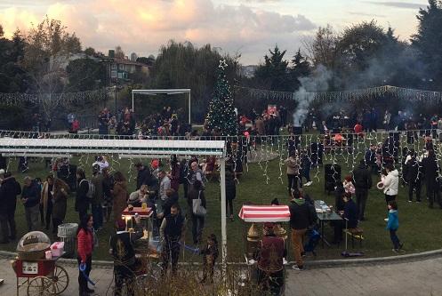 Photo of Etiler Sanatçılar Parkı'nda Aralık çok sıcak!