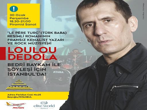 Photo of FRANSIZ KEMALİST YAZAR LOULOU DEDOLA İSTANBUL'DA!