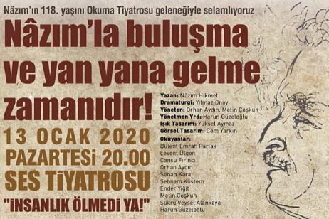 Photo of Nâzım Hikmet Kültür Merkezi Okuma Tiyatrosu 'İnsanlık Ölmedi Ya'