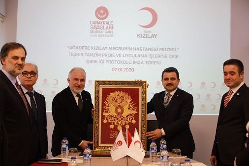 """Photo of """"Kızılay"""", """"Çanakkale Zaferi""""ndeki Rolünü """"MÜZE"""" ile Aktaracak"""