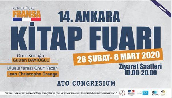"""Photo of 14. Ankara Uluslararası Kitap Fuarı'nda konuk ülke """"Fransa"""""""