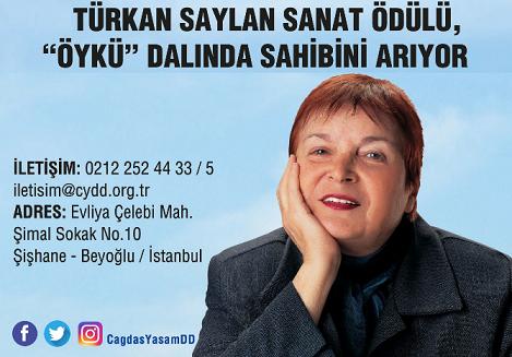 """Photo of 10. Türkan Saylan Sanat Ödülü """"ÖYKÜ"""" Dalında Sahibini Arıyor"""