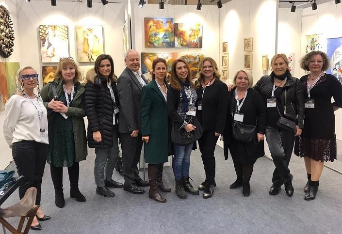 Photo of Aysel Gözübüýük Sanat Galerisi, Artankara Sanat Fuarında!