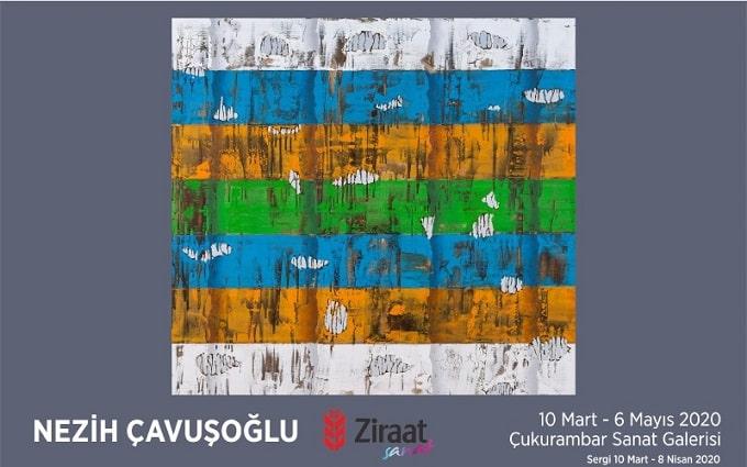 """Photo of Ziraat Bankası Çukurambar Sanat Galerisi Resim Sergisi – Nezih Çavuşoğlu """"İmgelerin Temsili"""""""