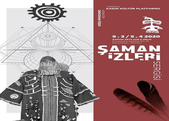 """Photo of Gizemli Şaman Kültürü """"Şaman İzleri"""" Sergisi ile Hamam Arts Hub'ta"""