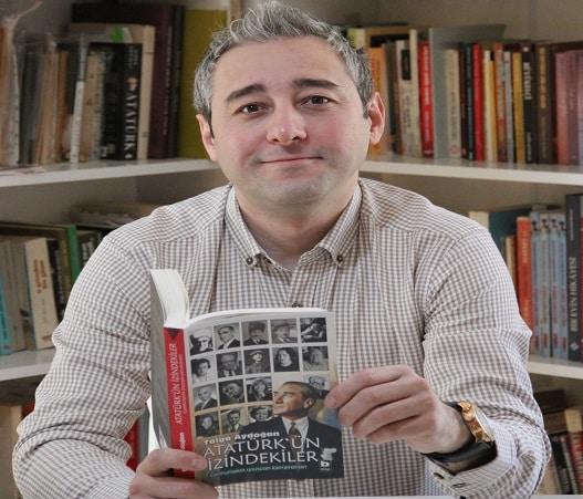 """Photo of Tolga Aydoğan """"Atatürk'ün İzindekiler""""i anlattı.."""