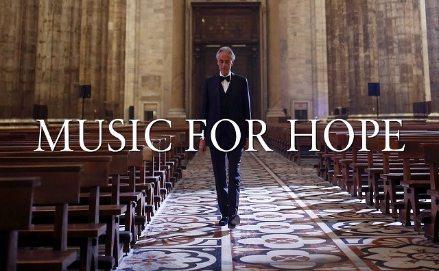"Photo of ANDREA BOCELLI'DEN ÇOK ÖZEL BİR PERFORMANS: ""MUSIC FOR HOPE"""