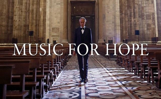 """Photo of ANDREA BOCELLI'DEN ÇOK ÖZEL BİR PERFORMANS: """"MUSIC FOR HOPE"""""""