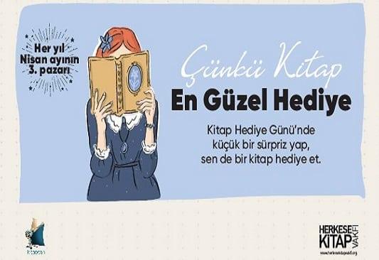 """Photo of """"Kitap Hediye Günü"""" Bu Yıl Evlerde Kutlanıyor"""