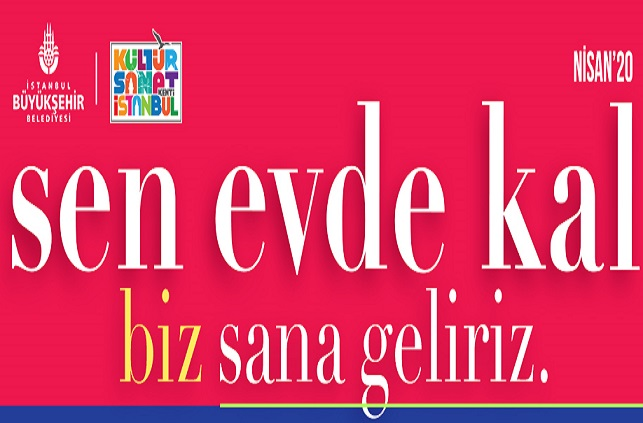 "Photo of ""Sen Evde Kal Biz Sana Geliriz"""