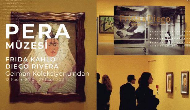 Photo of Frida Kahlo ve Diego Rivera sergisini gezmek ister misiniz?