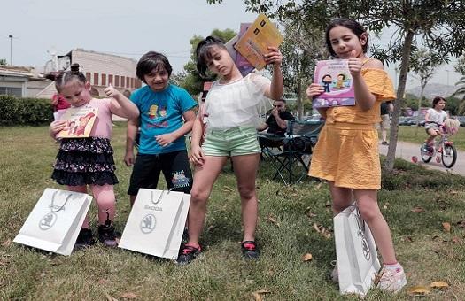 """Photo of """"İyilik Araçları"""" Düşyeri Kitaplarını Çocuklarla Buluşturdu"""