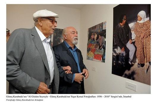 Photo of Yaşar Kemal, fotoğraflarla anılıyor.