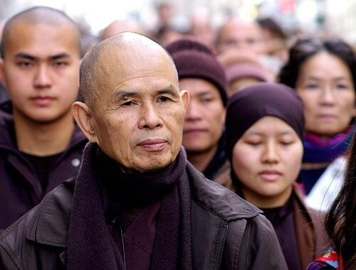 "Photo of Zen Budisti Thich Nhat Hanh'dan: ""Gerçek Huzur"""
