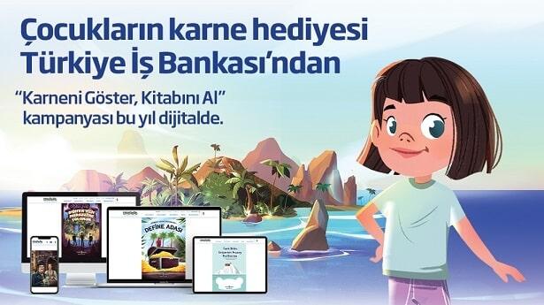 Photo of İş Bankası'ndan çocuklara tatil hediyesi kitaplar