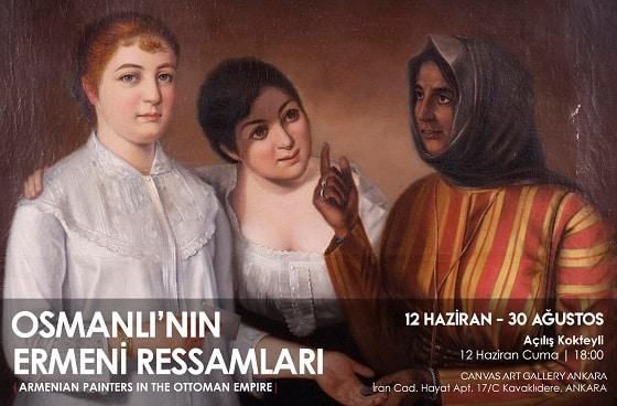 Photo of Canvas Art Gallery Resim Sergisi – Osmanlı'nın Ermeni Ressamları