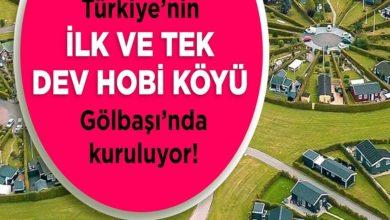 Photo of ATATÜRK'ÜN İDEAL CUMHURİYET KÖYÜ PROJESİ GÖLBAŞI'NDA HAYATA GEÇİYOR