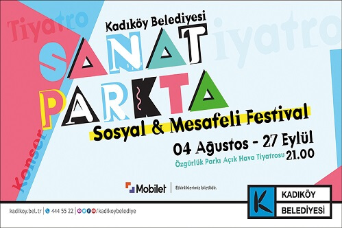 """Kadıköy'de Festival: """"SANAT PARK'TA"""" 1"""