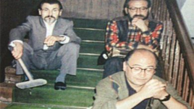 "Photo of ""Merdivende Üç Şair"""