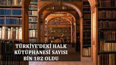 Photo of TÜRKİYE'DEKİ HALK KÜTÜPHANESİ SAYISI BİN 182 OLDU