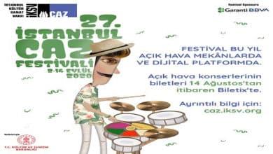 Photo of 27. İSTANBUL CAZ FESTİVALİ PROGRAMI