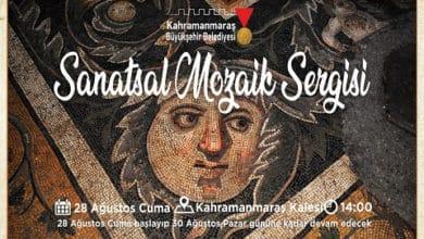 Photo of Sanatsal Mozaik Sergisi Kale'de Açılıyor