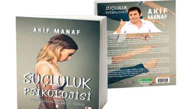 """Photo of Akif Manaf'ın yeni kitabı """"Suçluluk Psikolojisi"""""""