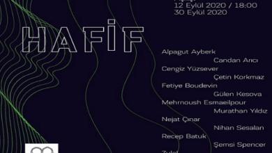 """Photo of Arthan Gallery """"Hafif"""" sergisi ile kapılarını yeniden açıyor."""