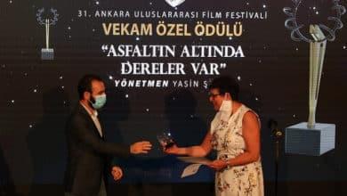 """Photo of """"Asfaltın Altında Dereler Var"""" Belgeseli ödül aldı."""