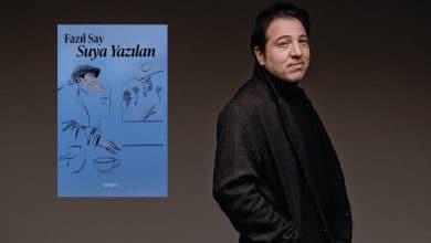 """Photo of Fazıl Say'ın yeni kitabı """"Suya Yazılan"""" raflarda yerini adı!"""