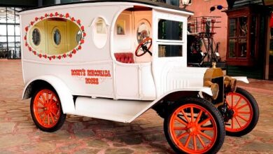 Photo of Farklı dönemlerin klasikleri iş ve hizmet araçları Rahmi M. Koç Müzesi'nde